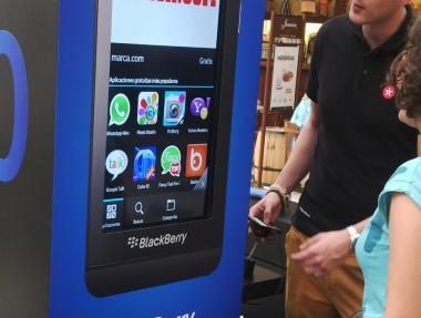 Blackberry – Centro comercial