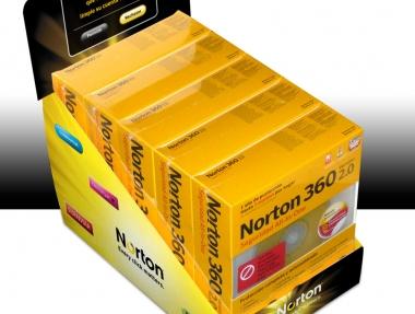 Symantec – Expositor PLV Norton