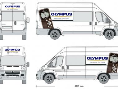 Olympus – Retolació promocional