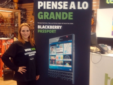 Blackberry – Shopping mall promoter